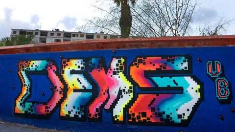 GRAFFITI WITH DEMS