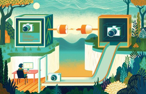 Sam Chivers' Illustrations for Wired World 2016