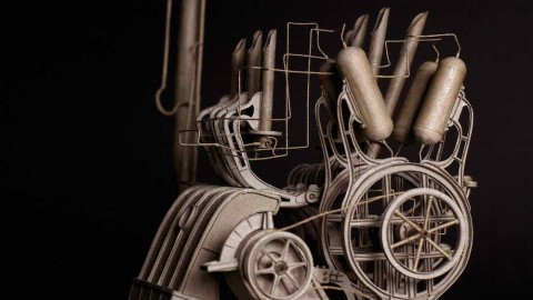 EXQUISITE MACHINES OF WOOD AND PAPER