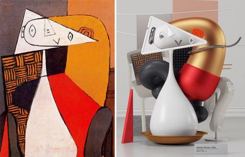 7 Pablo Picasso Paintings Recreated As 3D Sculptures