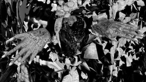Sin treatment; About Franco Palioff Glitch Video Art