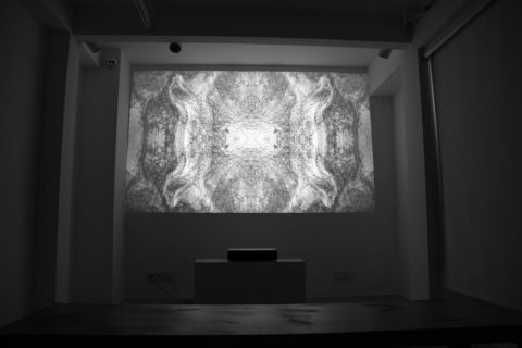 Familiar geometry; About  Mohammad Ali Famori's Glitch Video Art