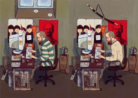 """Dmitry Narozhny """"Devexperts"""" Illustrations"""