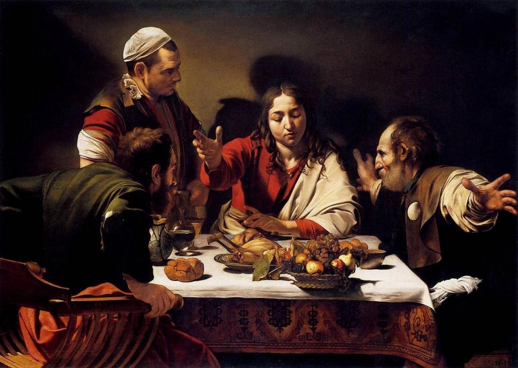 Michelangelo Merisi da Caravaggio, 'The Supper at Emmaus'