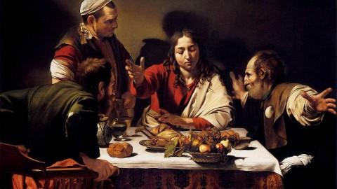 Michelangelo Merisi da Caravaggio, 'The Supper at Emmaus', 1601